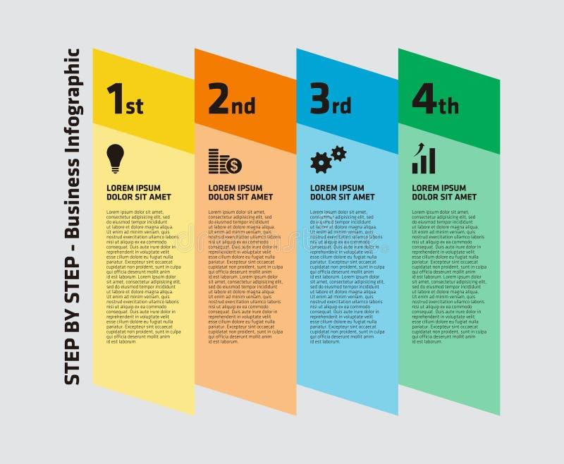 Download Negocio Gradual Infographic Ilustración del Vector - Ilustración de comercialización, gráfico: 42437409