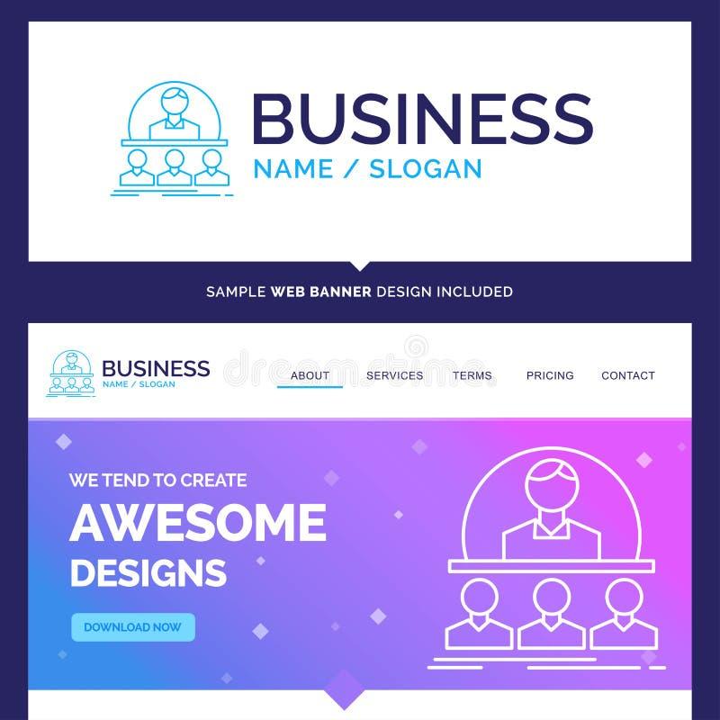 Negocio hermoso de la marca del concepto del negocio, coche, curso, i libre illustration