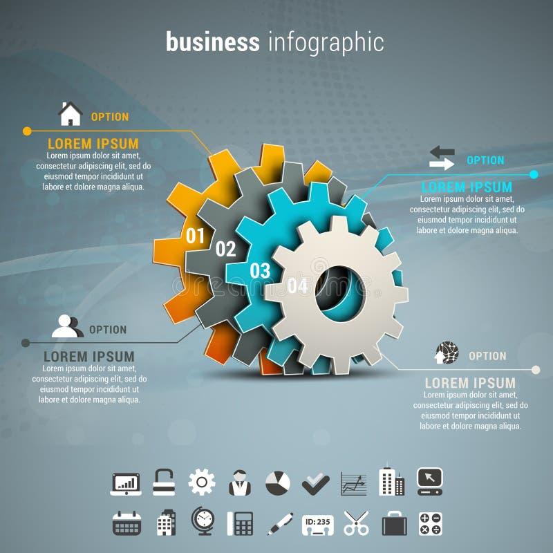 Negocio Infographic stock de ilustración