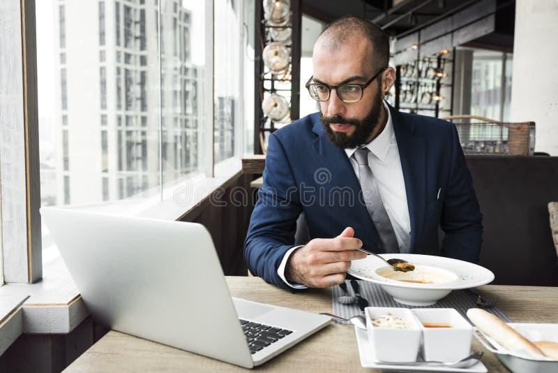 Negocio Person Work Indoors Concept imagen de archivo libre de regalías