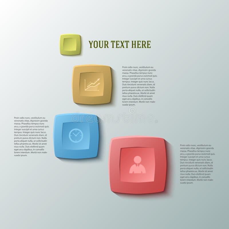 Negocio report30 de la presentación de la plantilla del elemento del diseño libre illustration