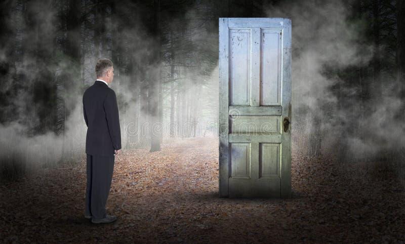 Negocio surrealista, ventas, márketing, metas, oportunidad, éxito imagen de archivo