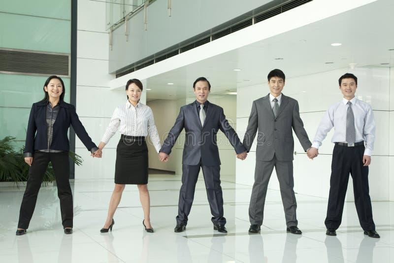 Negocio Team Holding Hands fotos de archivo