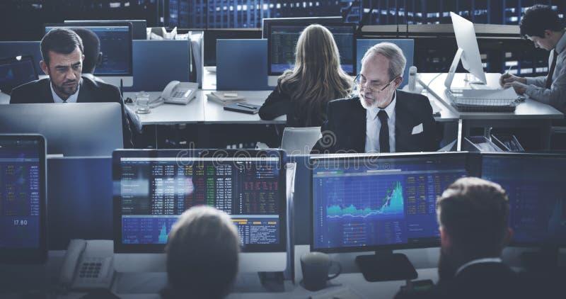 Negocio Team Investment Entrepreneur Trading Concept imagen de archivo libre de regalías