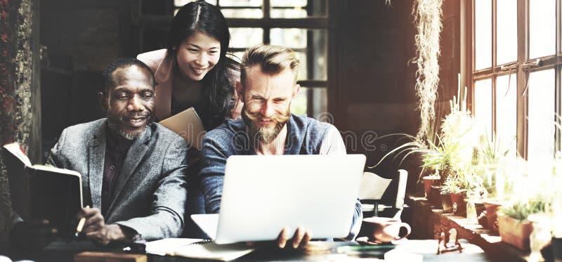 Negocio Team Meeting Brainstorming Working Concept imagen de archivo