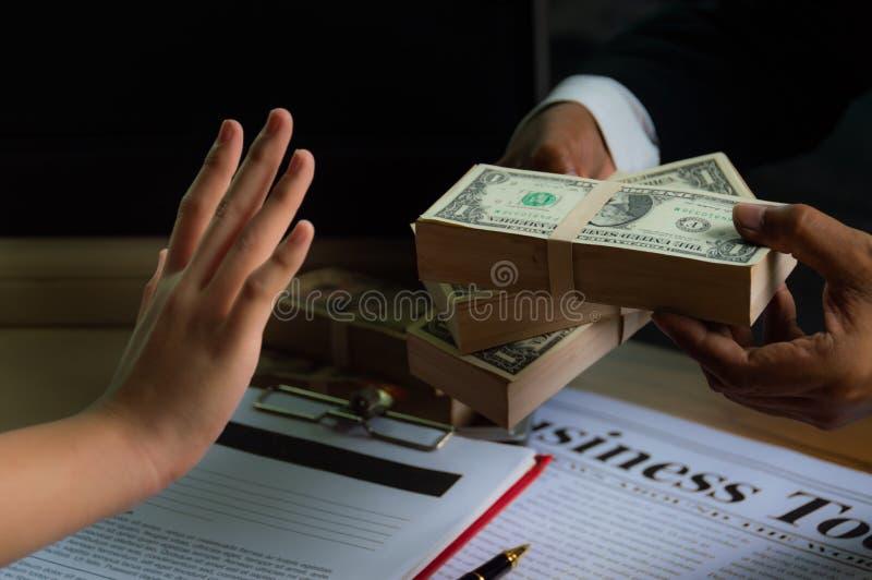 Negocio y soborno fotos de archivo libres de regalías