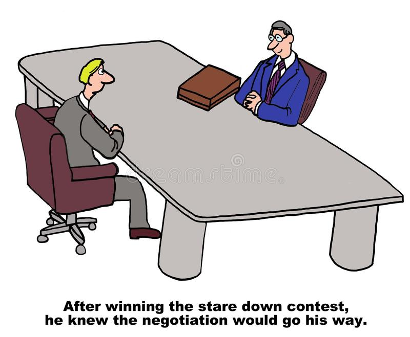 negocjacja royalty ilustracja