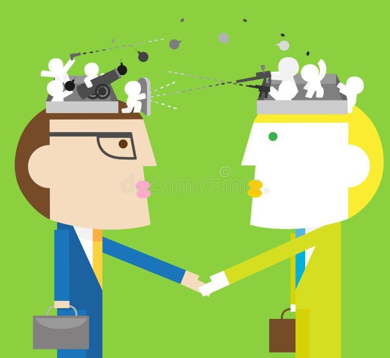 negocjacja ilustracji