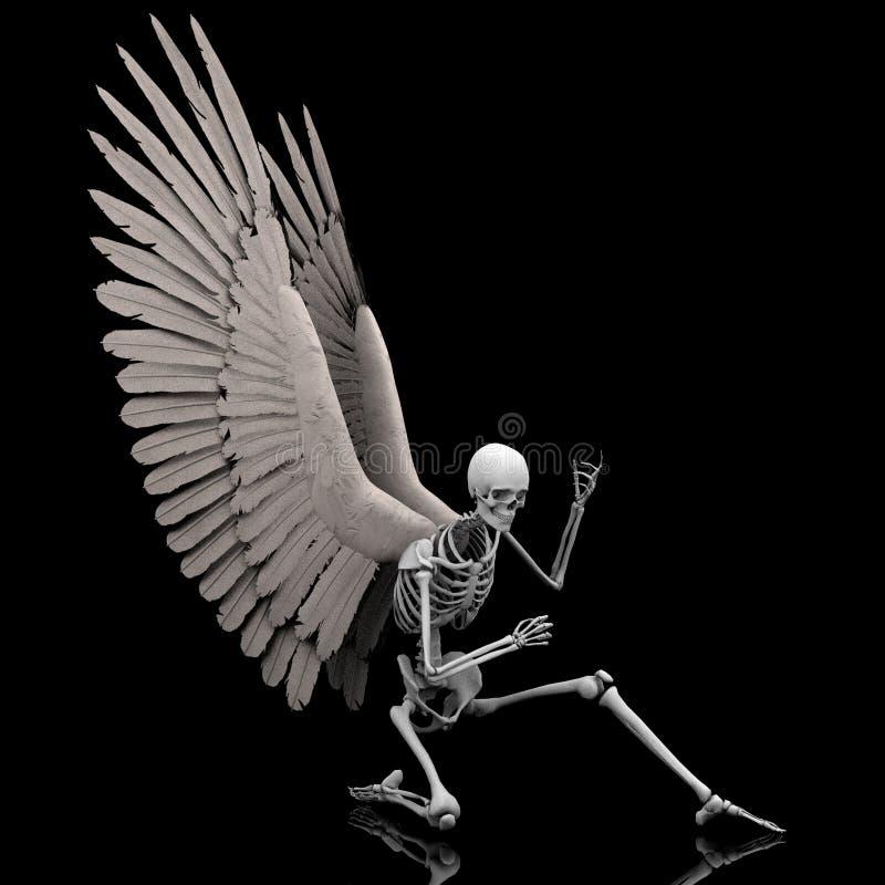Download Negocjuje ilustracji. Obraz złożonej z skrzydła, sztuczka - 21426730