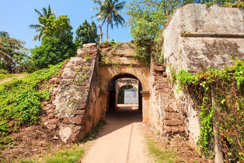 Negombo堡垒,斯里兰卡 库存照片
