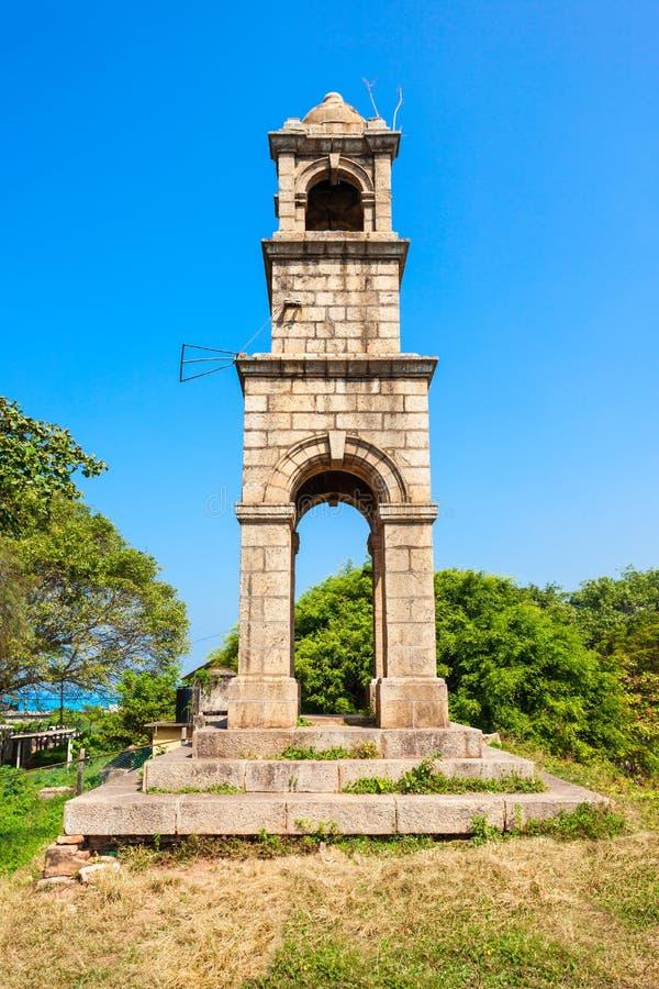 Negombo堡垒,斯里兰卡 免版税库存照片