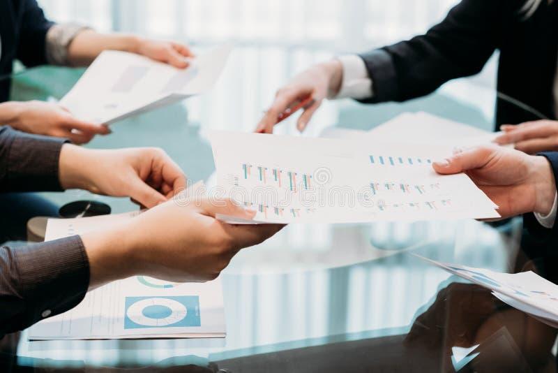 Negotiation business partnership talks cooperation stock image
