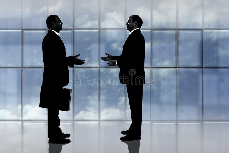 Negotiation royalty free stock photography