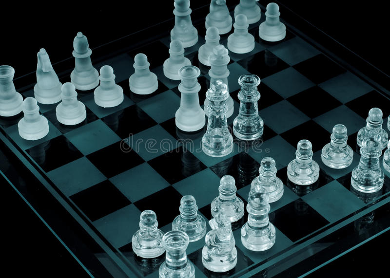 The Negotiation Concept. King and Queen from both sides negotiating an alliance or truce stock photos