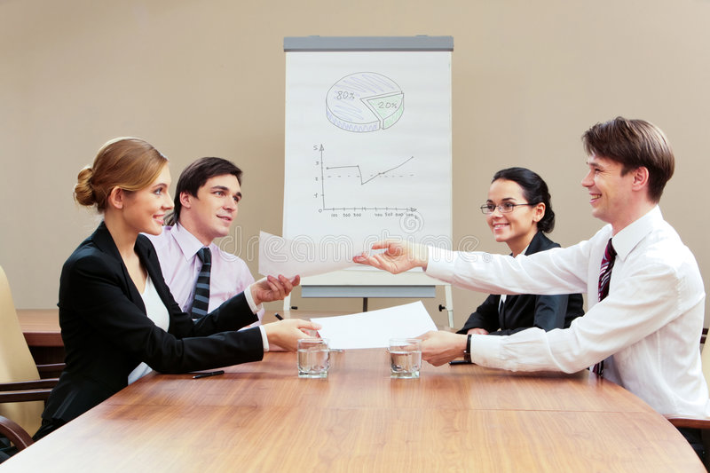 Download Negotiations stock image. Image of diagram, male, female - 8147151