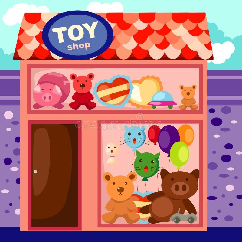 Negozio del giocattolo royalty illustrazione gratis
