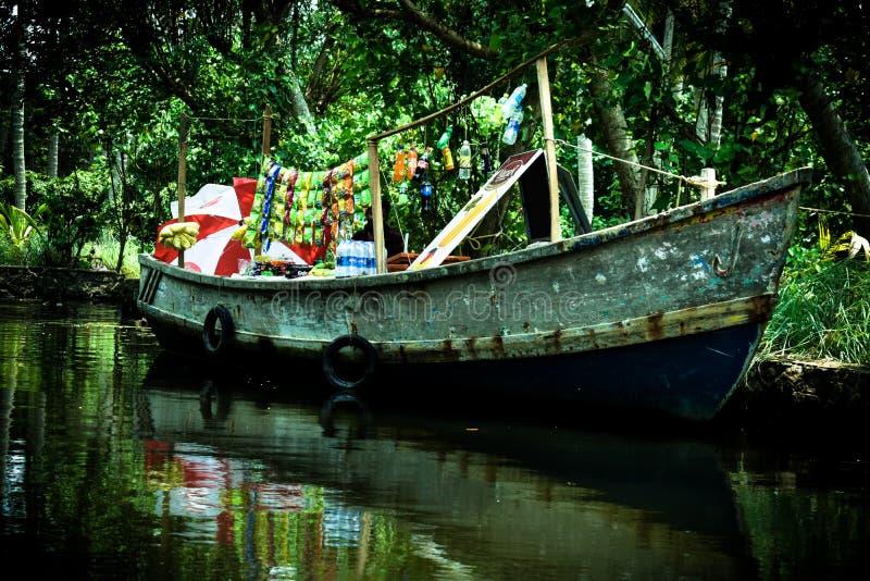 Negozio della barca fotografie stock libere da diritti