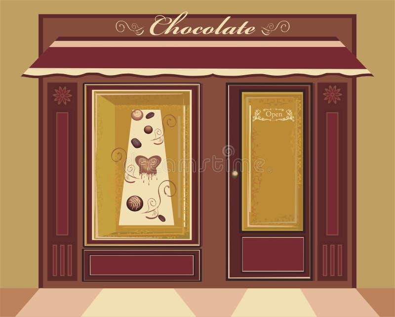 negozio della caramella royalty illustrazione gratis