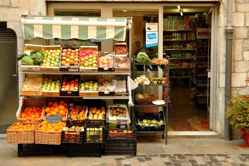 Negozio di alimentari in Spagna fotografia stock libera da diritti
