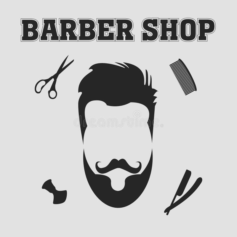 Negozio di barbiere illustrazione di stock