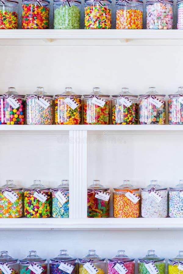 Negozio di dolci immagini stock libere da diritti