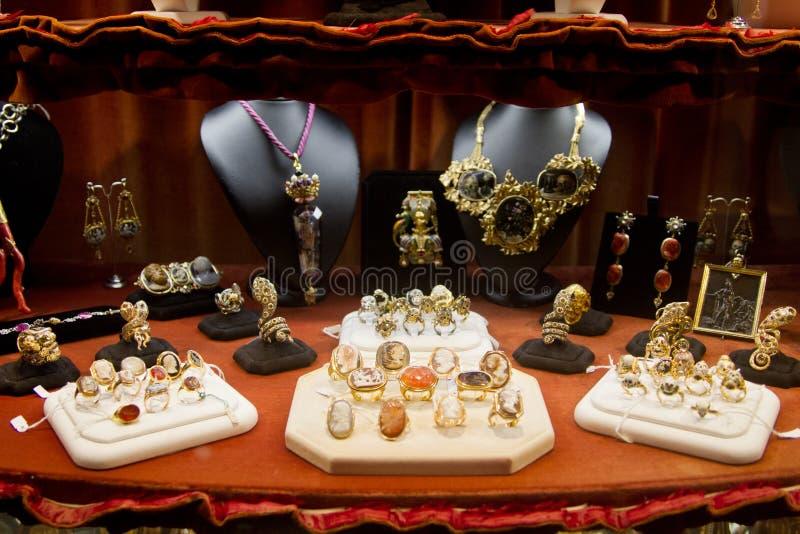 Negozio di gioielli immagine stock libera da diritti