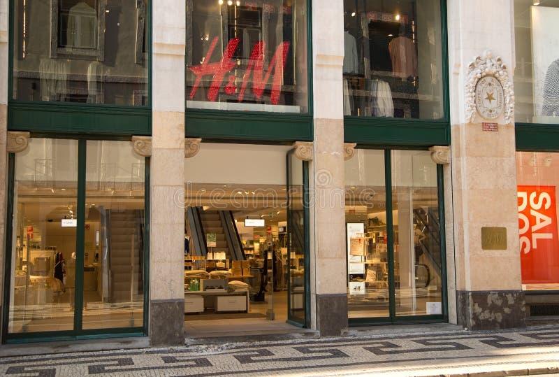 Negozio di H&M fotografia stock