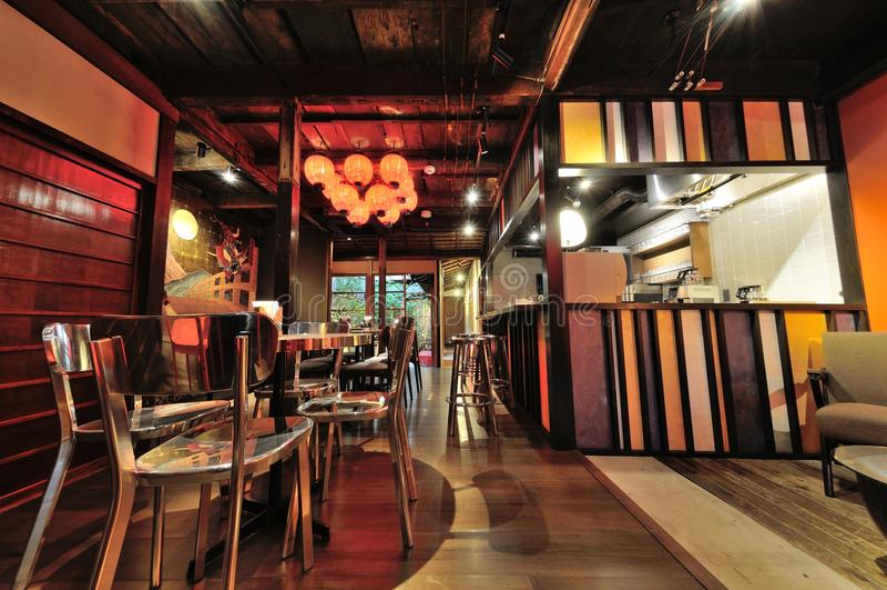 Negozio di Osaka Coffee fotografia stock