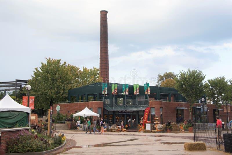 Negozio di regalo a Lincoln Park Zoo Chicago, Illinois immagine stock libera da diritti