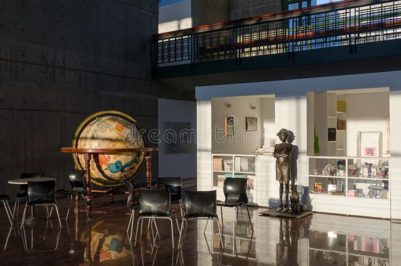Negozio di ricordo del museo a Caracas fotografia stock