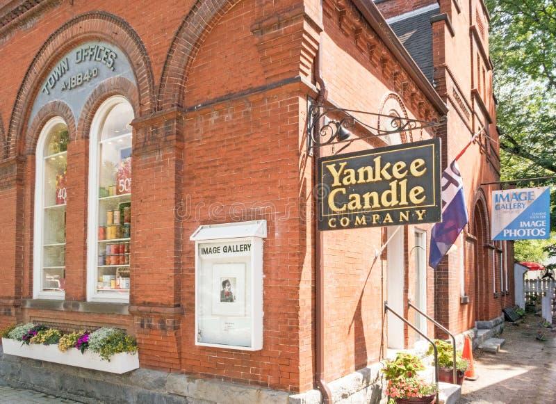 Negozio di Yankee Candle Company fotografia stock libera da diritti