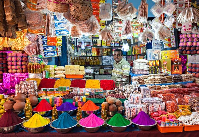 Negozio indiano fotografie stock