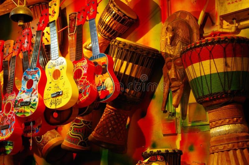 Negozio musicale immagini stock libere da diritti