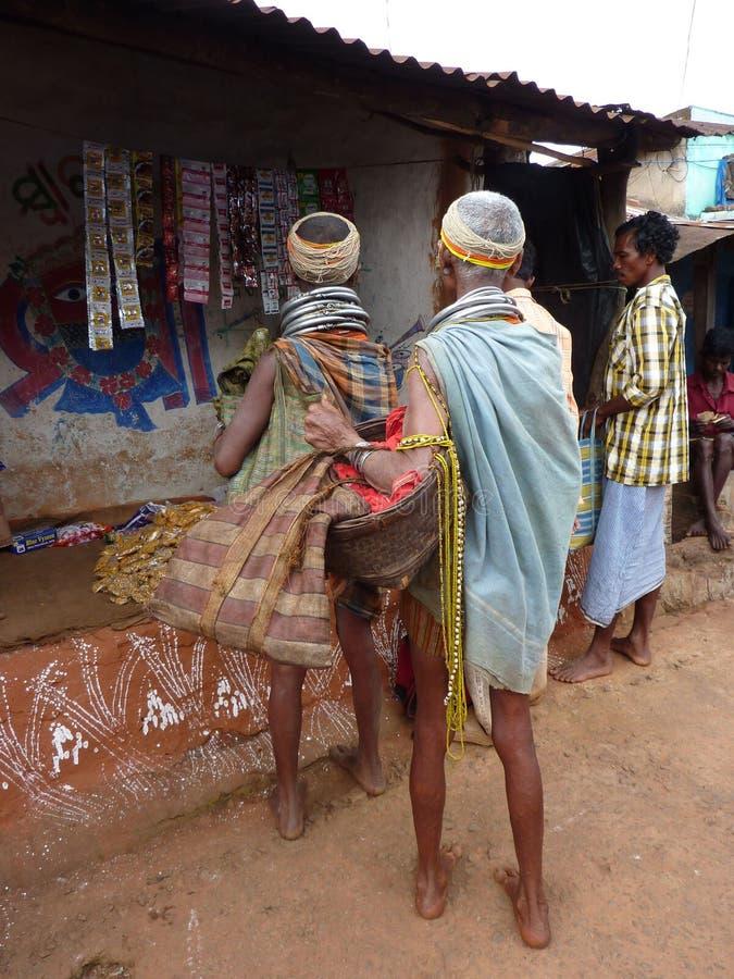 Negozio tribale delle donne di Bonda immagini stock