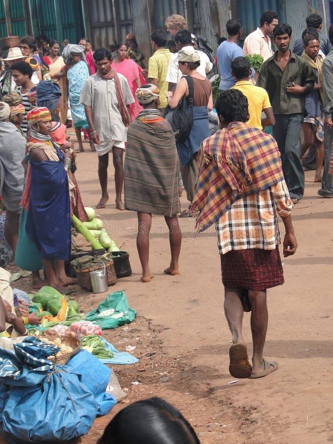 Negozio tribale delle donne di Bonda fotografia stock libera da diritti