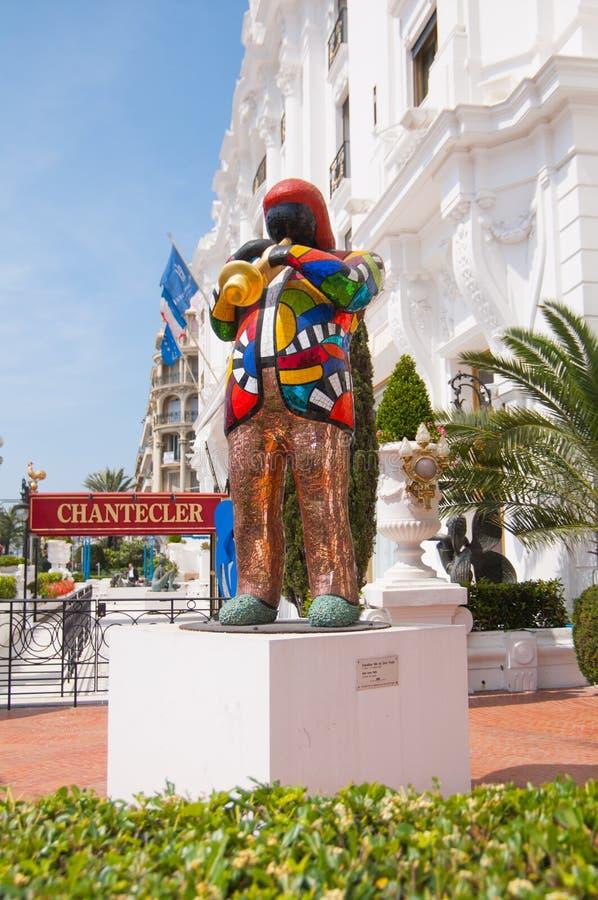 Negresco hotell, Nice, Frankrike arkivfoto