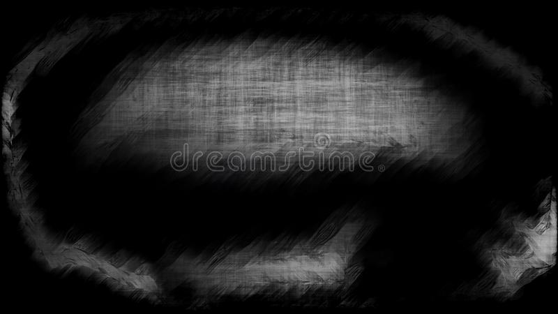 Negro abstracto y Grey Textured Background Image stock de ilustración