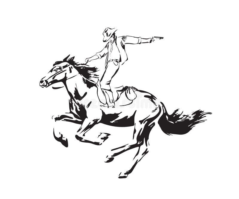 Negro aislado en el fondo blanco ilustración del vector