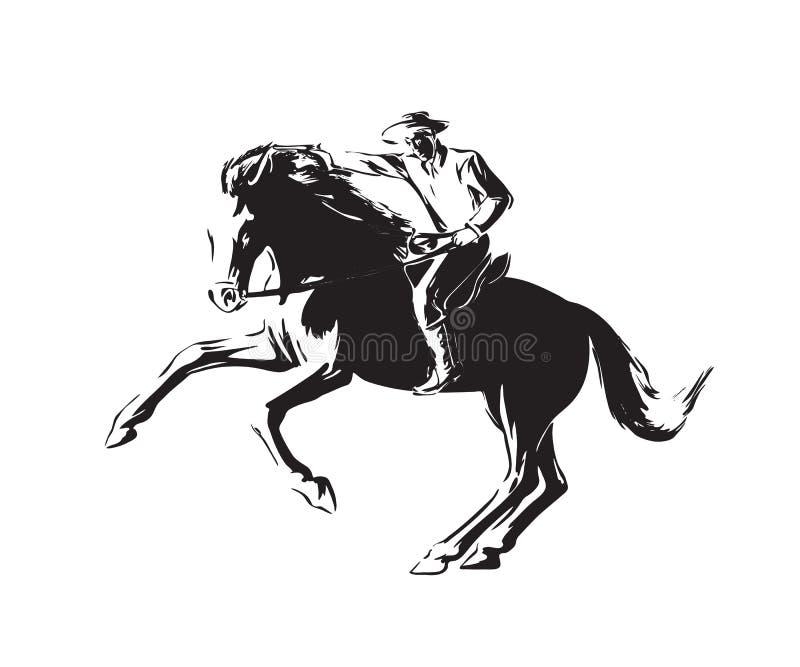 Negro aislado en el fondo blanco libre illustration