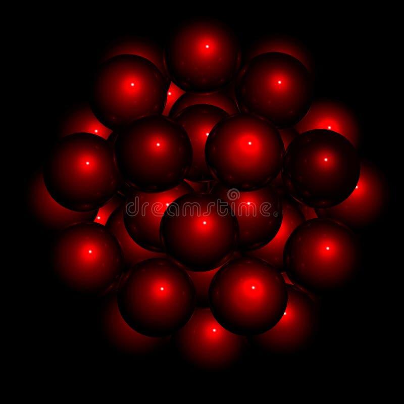 Negro de la estructura de la esfera libre illustration