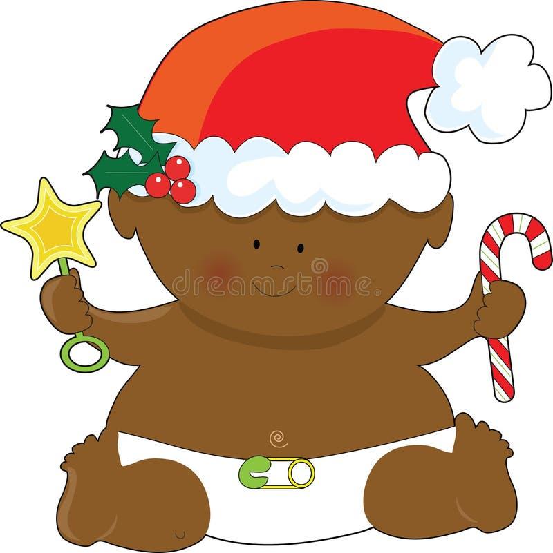 Negro de la Navidad del bebé libre illustration