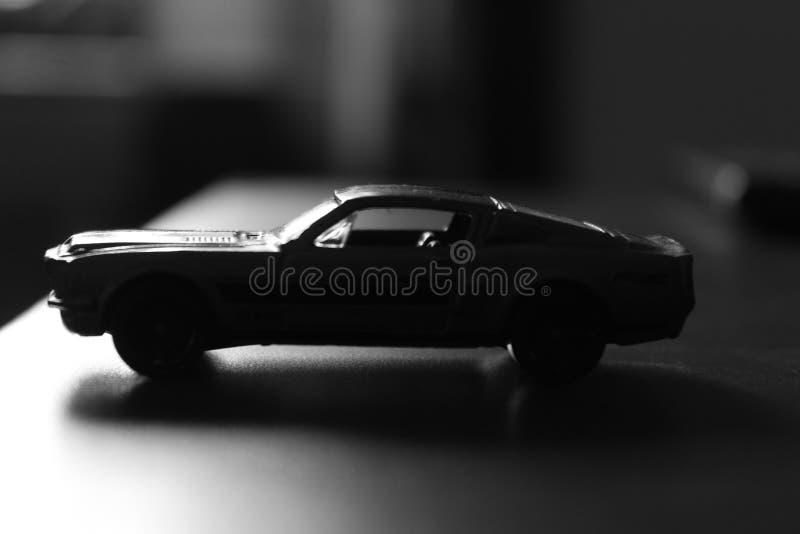 negro de la sombra del boekh del coche modelo fotografía de archivo