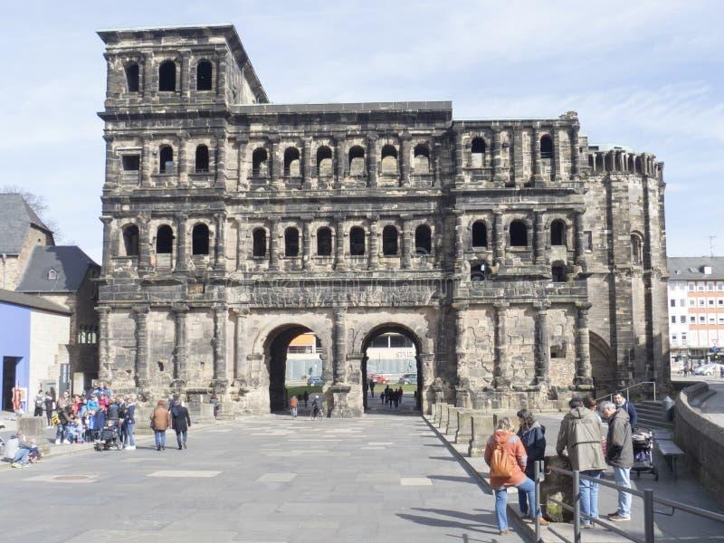 Negro de Porta, Trier foto de stock royalty free