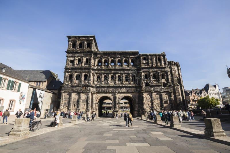 Negro de Porta, Trier, Alemanha imagem de stock