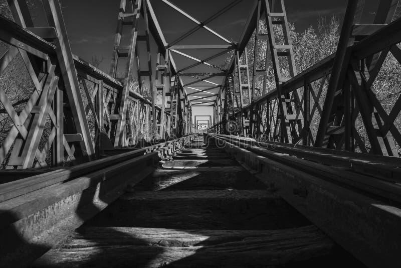 Negro de Puente fotografia de stock