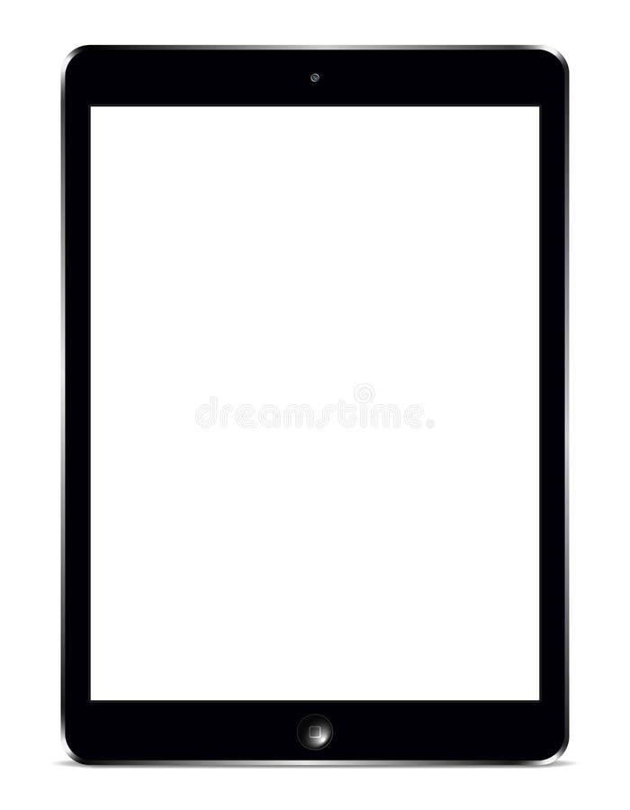 Negro del aire de IPad stock de ilustración