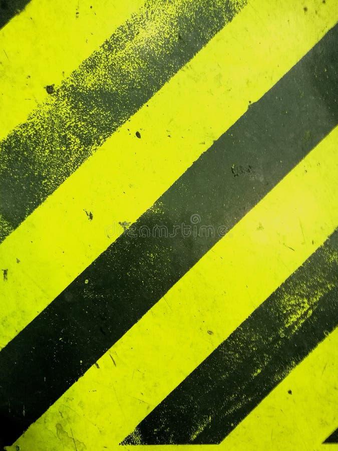 Negro y amarillo fotografía de archivo
