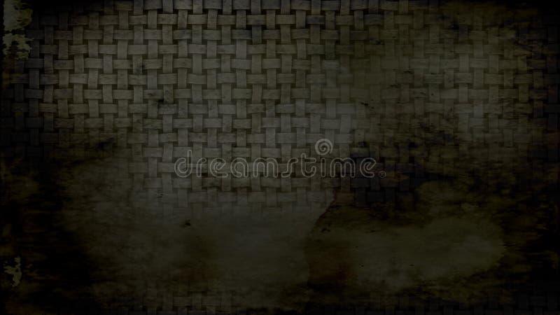 Negro y fondo elegante del diseño del arte gráfico del ejemplo de Grey Grunge Texture Background Beautiful ilustración del vector