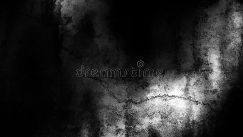 Negro y fondo elegante del diseño del arte gráfico del ejemplo de Grey Watercolor TextureBeautiful stock de ilustración