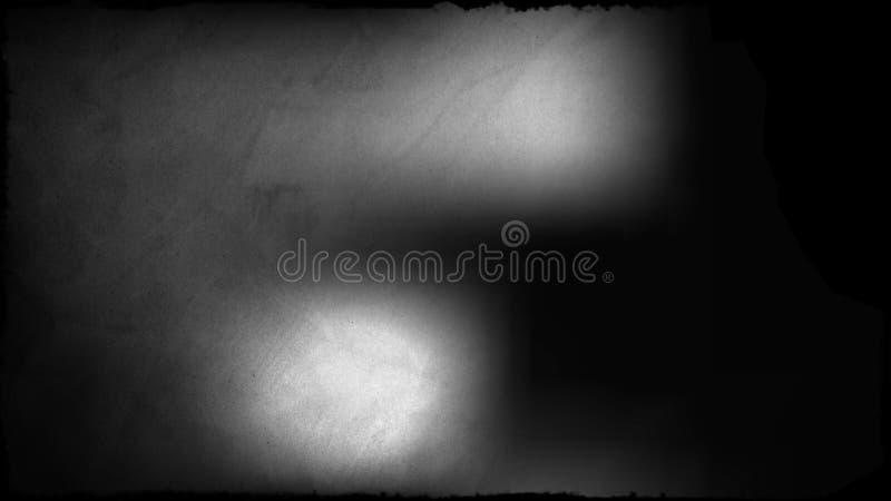 Negro y fondo elegante hermoso del diseño del arte gráfico del ejemplo de la imagen de Grey Dirty Grunge Texture Background stock de ilustración
